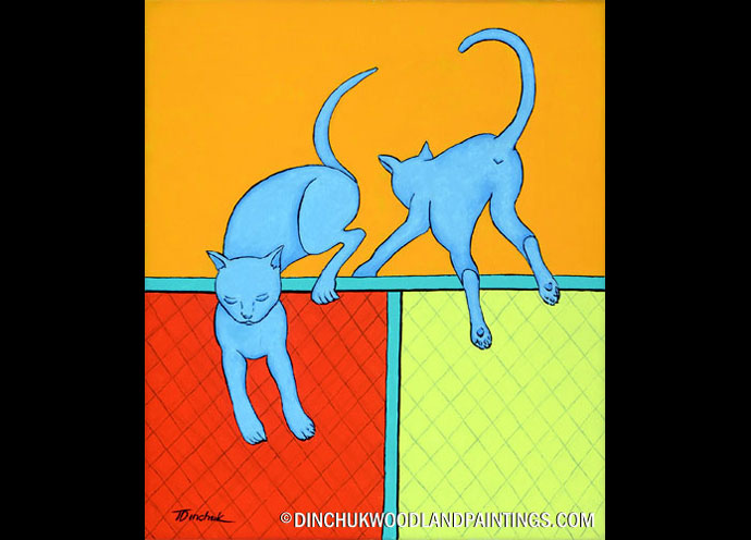 Tom Dinchuk: Cats on the Fence