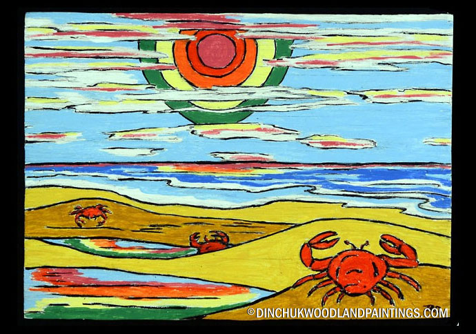 Tom Dinchuk: Lobsters at the Beach